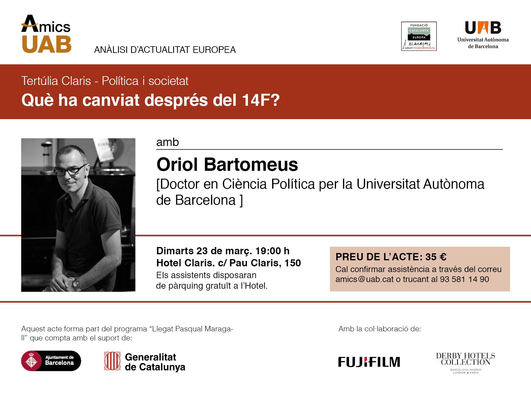 Oriol Bartomeus