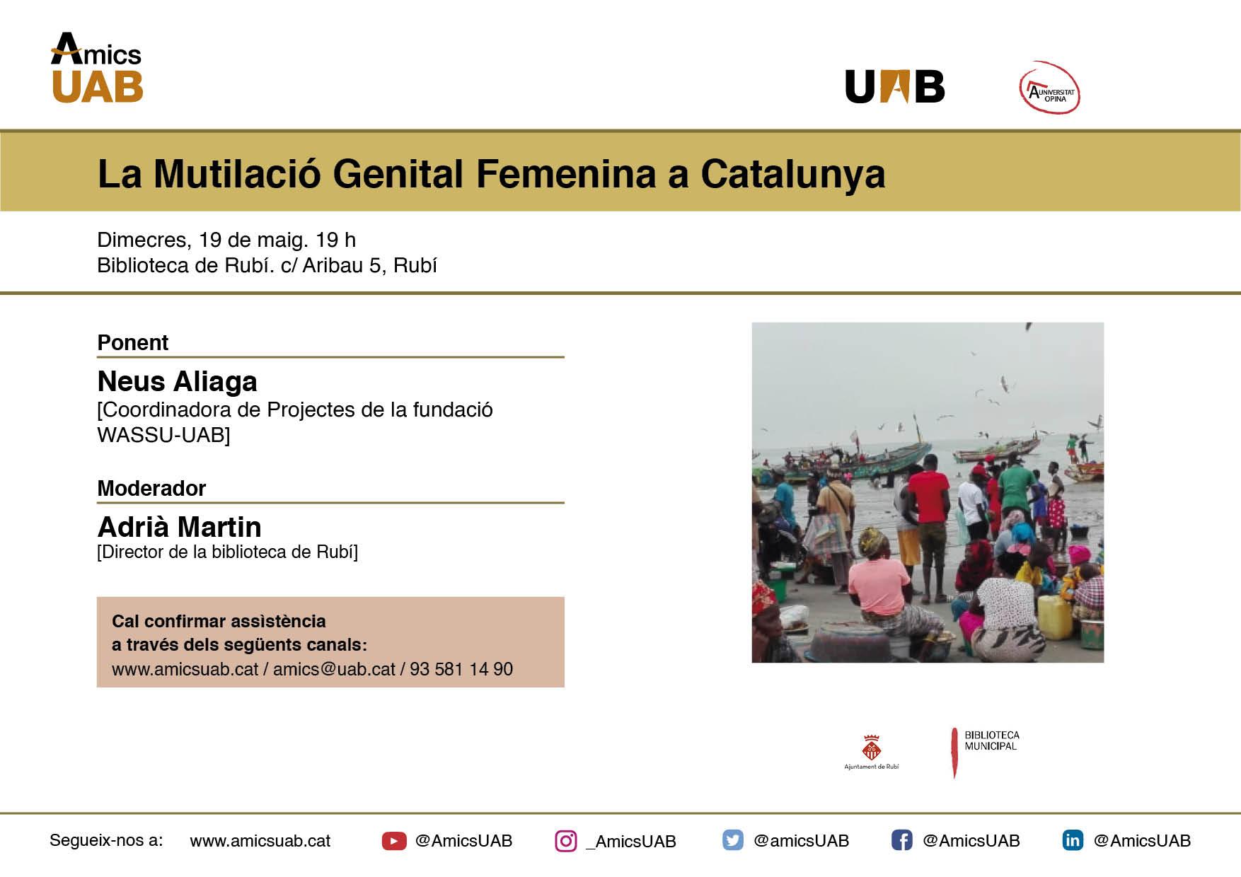 La mutilació genital femenina a Catalunya