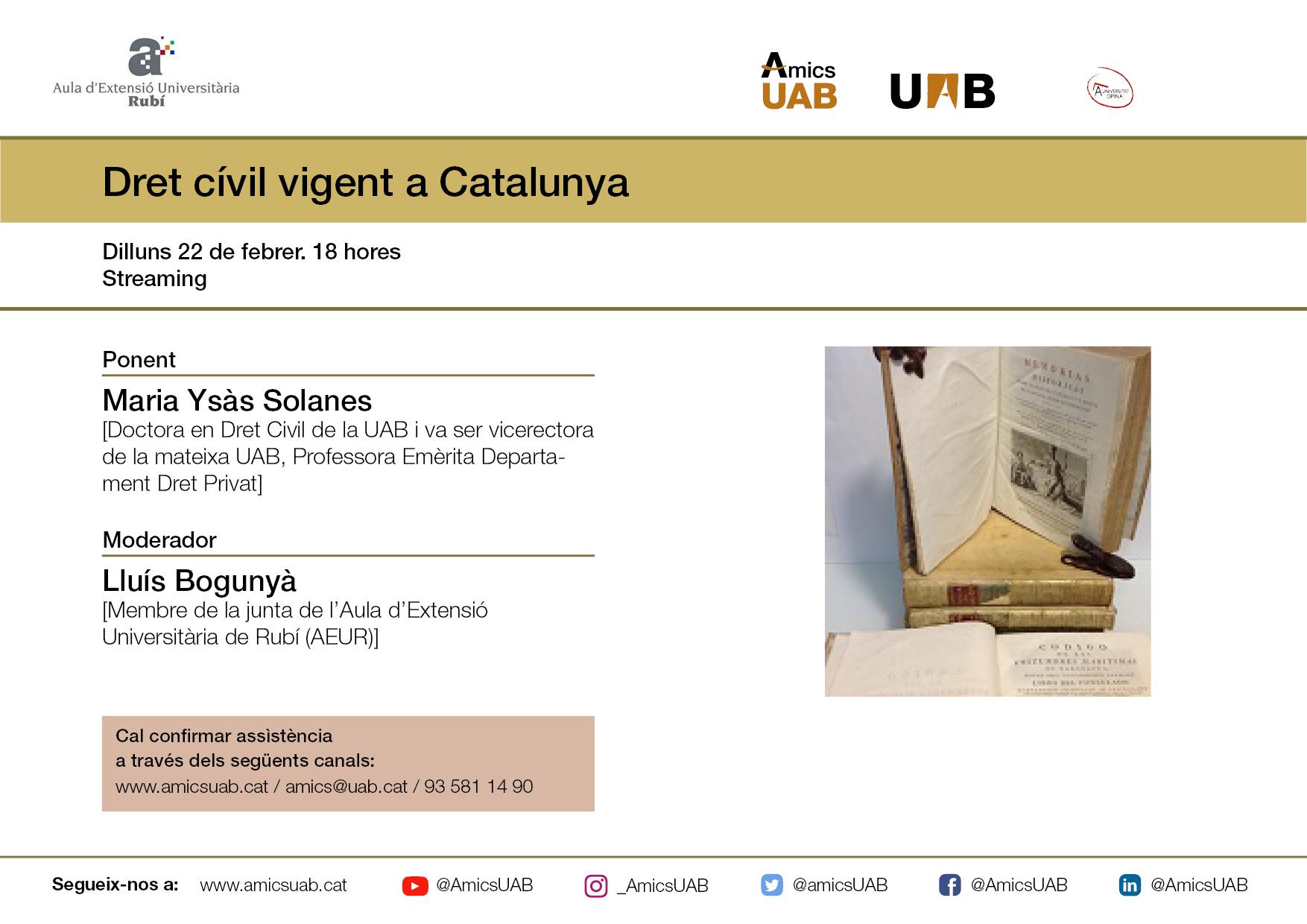Dret civil Catalunya
